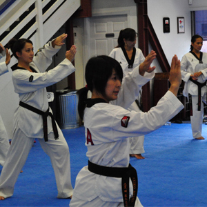 Akiko poomsae at Oahu Taekwondo Center